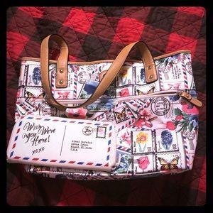 Giani Bernini tote purse and matching wallet